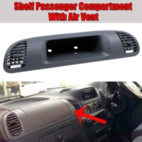 Car Shelf Passenger Compartment with Air Vent Hood for Mercedes for Benz Sprinter Cdi 1999-2006 Instrument Panel Outlet 90168016