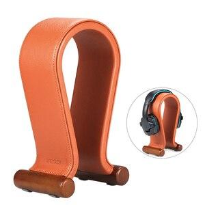 Image 2 - עור עמדת אוזניות האוניברסלי Gaming אוזניות מחזיק אוזניות תמיכה גומי רגליים, החלקה, יציב עבור אוזניות