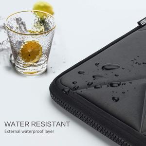 Image 5 - DOMISO 10 13 14 15.6 Inch Shock Resistant Laptop Sleeve Protective Case Waterproof Laptop Bag for Macbook Acer HP Black