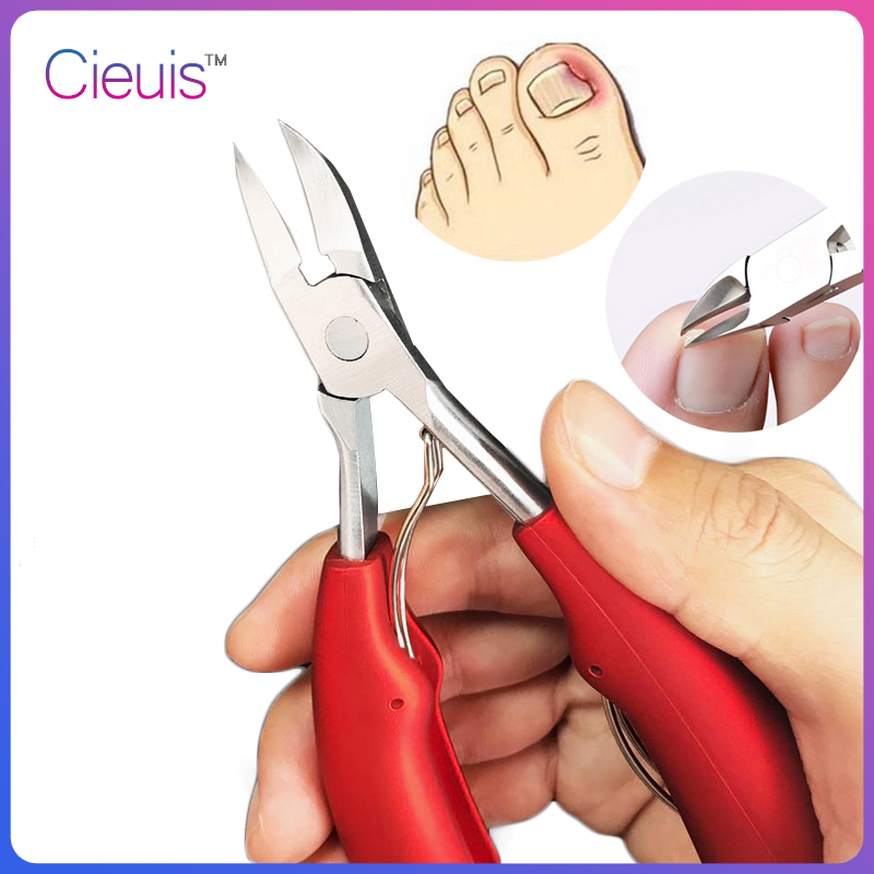 Nail Clippers Ingrown Toenail Podiatry Correction Nippers Cuticle Cutters Cut Paronychia Pedicure Manicure Hand Foot Care Tool