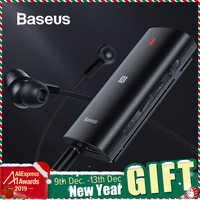 Baseus i Bongiovi DPS 3D Stereo Bluetooth 5.0 Adapter efekt dźwiękowy na żywo APT-X NFC Adapter do gier z redukcją szumów CVC MIC