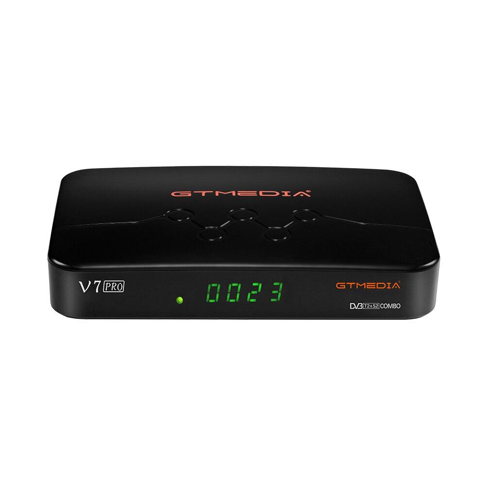 GTMEDIA V7 PRO Satellite receiver DVB S2+T2, v7 combo upgrade version with USB WIFI digital receiver