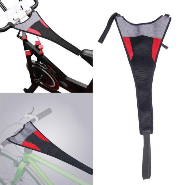 Durable Bike Sweat Cover Catcher Indoor Cycling Sweat Frame Guard Net Accessory Bike Trainer Roller Belt Cycling Home Riding 2