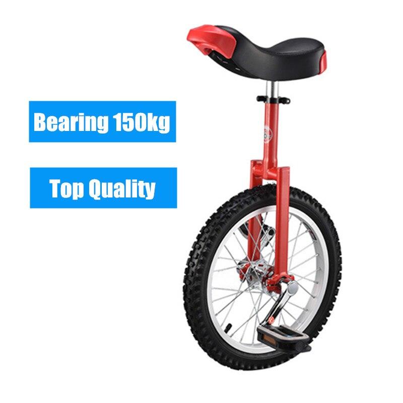 """Nova marca 16 """"18"""" 20 """"24"""" unicycle ciclismo scooter da bicicleta do circo juventude equilíbrio adulto exercício única roda bicicleta"""