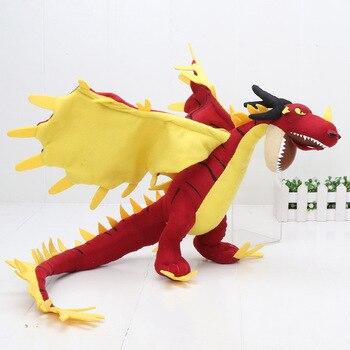 55cm 22cm 33cm 40cm Train Dragon Toothless Dragon Soft Stuffed Animal Plush Toys Juguetes de Peluches Bebe 15