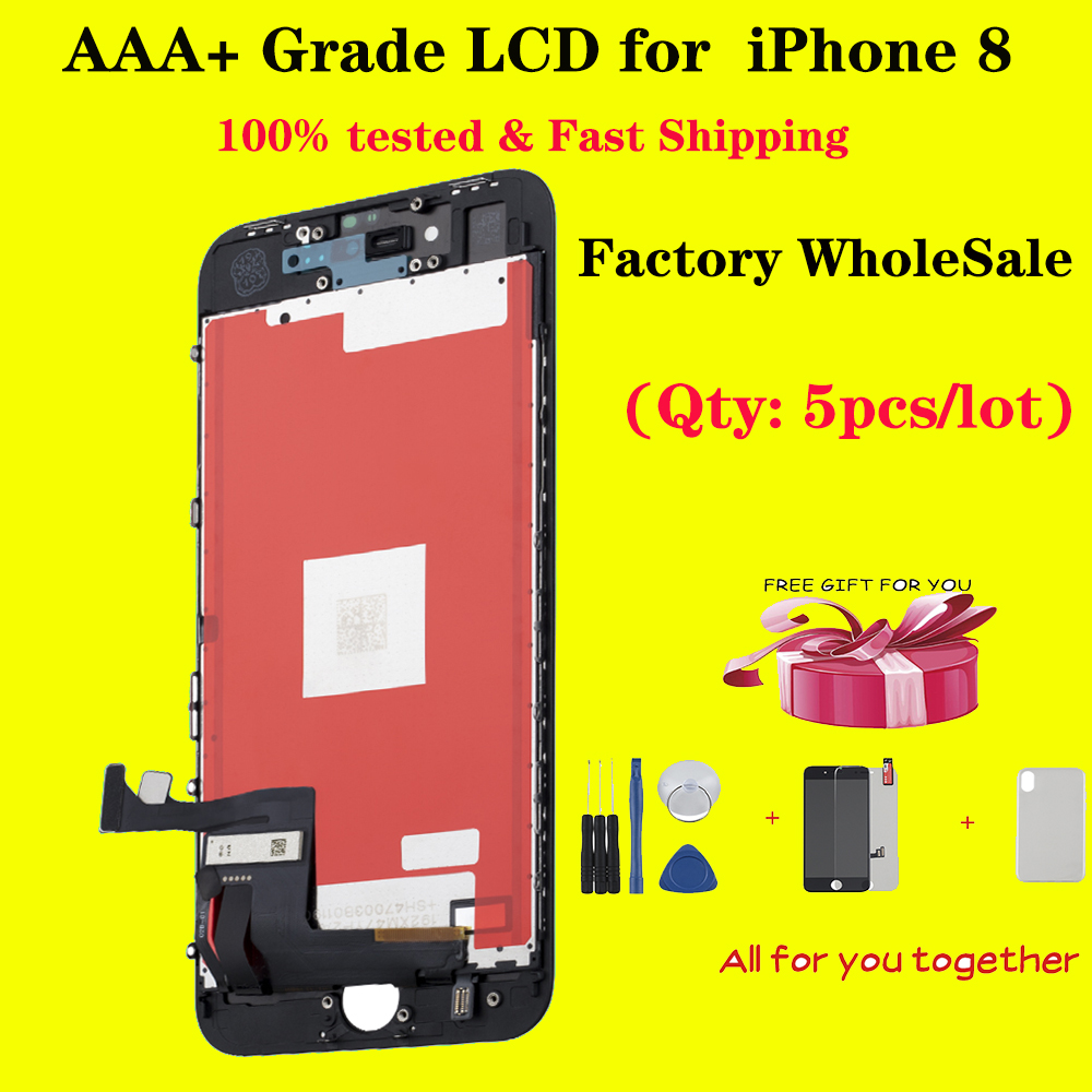 5pcs/lot ips <font><b>lcd</b></font> for <font><b>iPhone</b></font> <font><b>8</b></font> 8G display Assembly Replacement Touch Screen Digitizer No Dead Pixel highscreen <font><b>LCD</b></font> full set <font><b>ecran</b></font> image