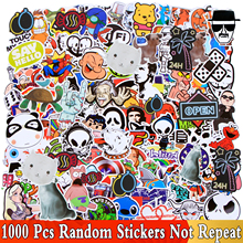 Random 1000 PCS Mix Style Waterproof JDM Stickers for Car Laptop Skateboard Motorcycle Furniture Decal DIY Cartoon Toy Sticker