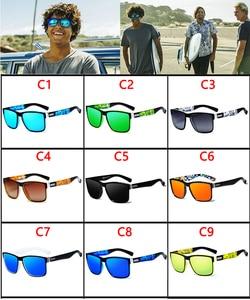 Image 2 - VIAHDA Polarisierte Sonnenbrille männer Retro Männlich Goggle Bunte Sonnenbrille Für Männer Mode Marke Luxus Spiegel Shades Oculos