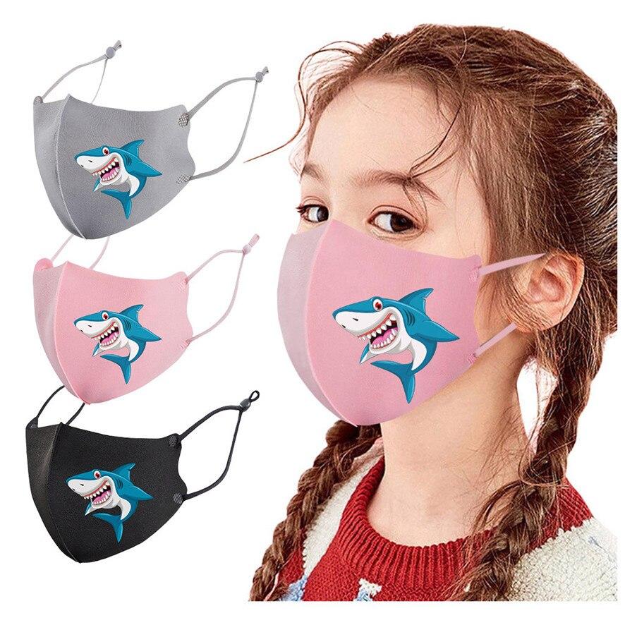 Kids Mask Children Girl Outdoor Mouth Masks Protection Face Masks Reusable Mask Washable With Internal Filter Carbon Antivirus