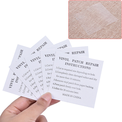5 PCs PVC Waterproof Transparent Self Adhesive Nylon Sticker Cloth Patches Outdoor Tent Jacket Repair Tape Patch Accessories