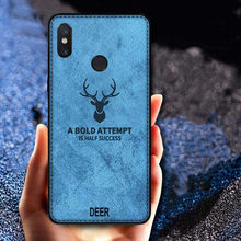 Shockproof Deer Cloth Cases For Xiaomi Redmi Note 7 6 Pro 5A Prime 5 Plus 4X 6A S2 Y2 Pocophone F1 Mi9 9SE 8 6 A1 A2 Lite Cover(China)