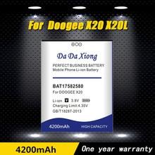 2019 Da Da Xiong New Original BAT17582580 Battery 5.0inch for Doogee X20 X20L