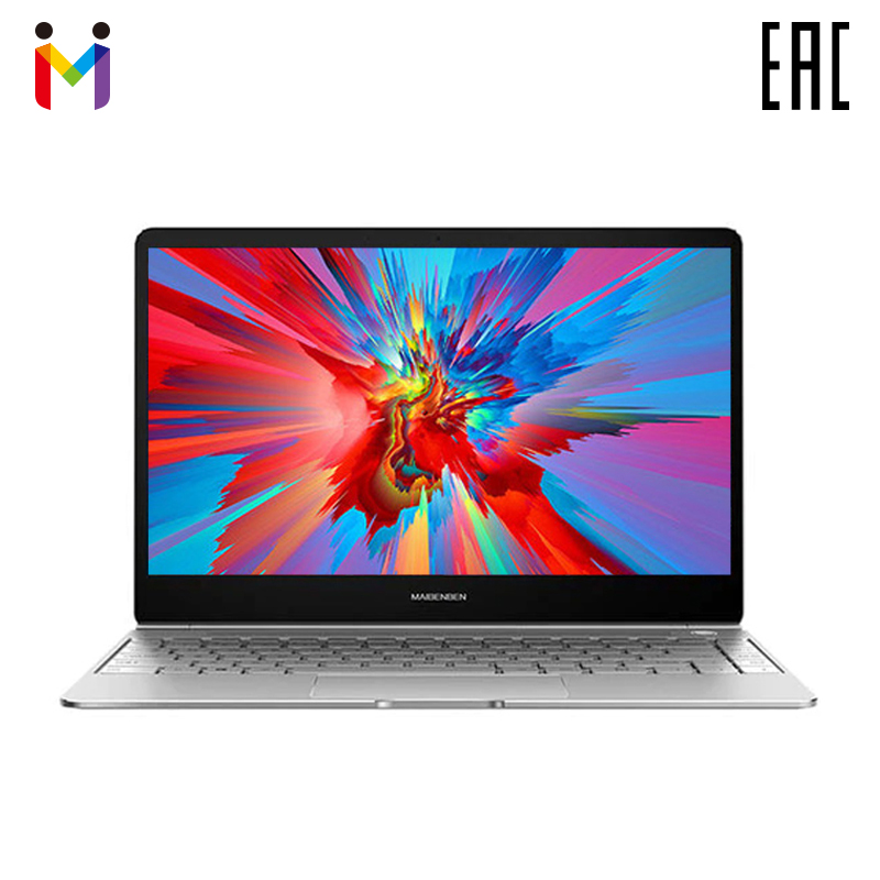 "Ordinateur portable Ultra-mince MAIBENBEN JinMai 6 13,3 ""FHD/ADS/1,3 _/14,5/Intel N4000/4 GB 128 GB SSD Intel (R) HD Graphics 600/DOS"