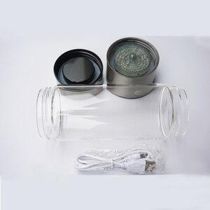 Image 4 - Hydrogen Water Generator Alkaline Maker Rechargeable Portable for pure H2 hydrogen rich water bottle 420ML