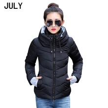 2019 Winter Jacket women Plus Size Womens Parkas Thicken Outerwear solid hooded Coats Short Female Slim Cotton padded basic tops semir winter jacket women plus size l womens parkas thicken outerwear solid coats short female slim cotton padded basic tops