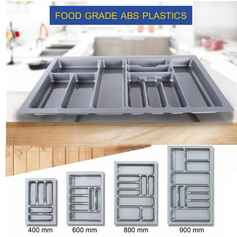 Metal Cutlery Tray Holder Drawer Organiser Storage Kitchen 5 Compartmen