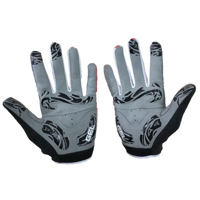 Atacado etixxl dedo cheio luvas de ciclismo guantes gel almofada luvas da motocicleta verão mtb bicicleta luvas 5