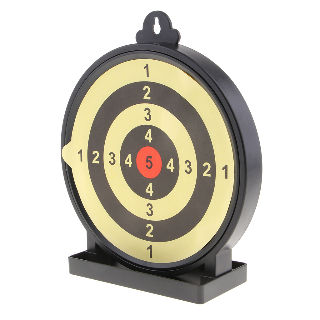 Shooting Target Plate Sticking Buffering Targets With Stringy Layer
