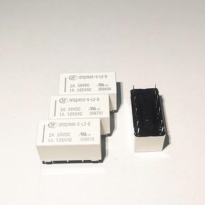 Image 1 - 10 pçs/lote Relés HFD2 012 S L2 D HFD2 005 S L2 D HFD2 024 S L2 D 1A 10PIN relé de travamento Magnético