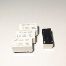 10PCS/lot Relays HFD2 012 S L2 D  HFD2 005 S L2 D  HFD2 024 S L2 D  1A  10PIN  Magnetic latching relay