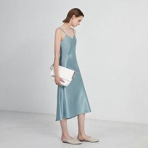 Image 5 - GOPLUS נשים של שמלת סאטן קלע רצועת שמלות סקסי קיץ ללא משענת שמלת 2020 Ropa Mujer Sukienki Letnie Robe Femme Vestidos