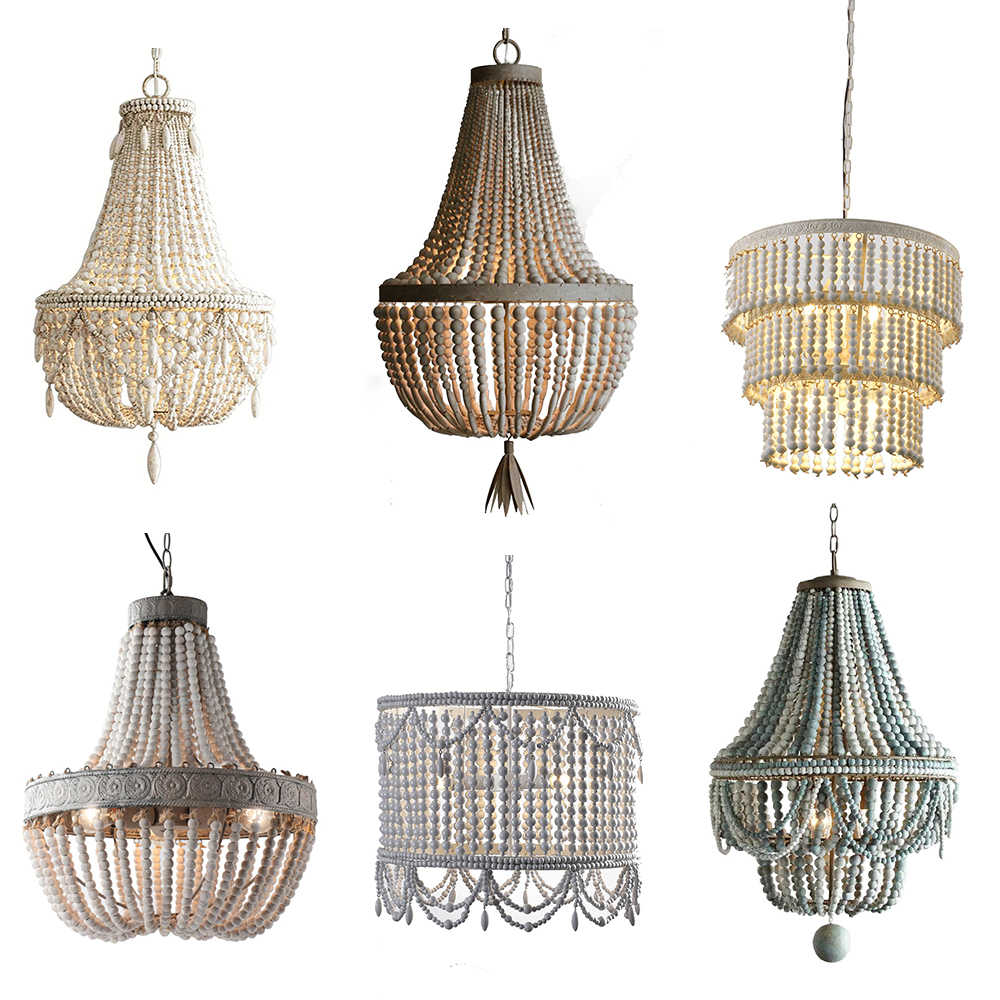 Umeiluce Industrial Chandelier Lighting Wood Vintage Pendant Fixture Farmhouse Kitchen Hanging Island Lamp For Living Bedroom Chandeliers Aliexpress