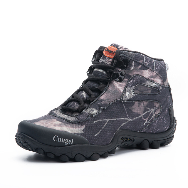 NEW Camo Tactical Boots Men Waterproof Military Tactical Boots Outdoor Combat Shoes Trekking Sneakers Man Hiking Hunting Boots 2