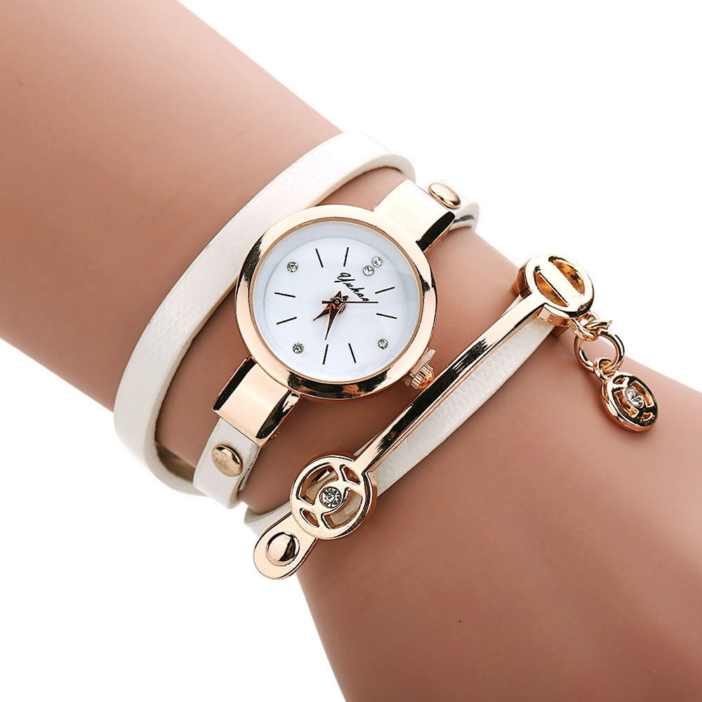 Female Watch Women Metal Strap Watch Wristwatch Clock Gift High Quality Clock Fashion Casual Bracelet Watch  Valentine Gift#8