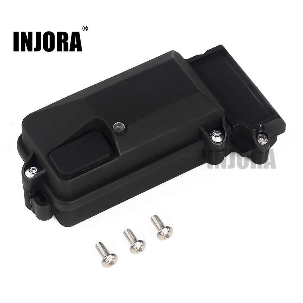 Plastic Receiver Box for 1//10 TRAXXAS TRX4 RC Crawler Car Waterproof Parts  #8Y