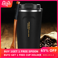 Coffee-Mug Car-Water-Bottle Vacuum-Flasks Gift Travel 500ml Hot-Sale 304-Stainless-Steel