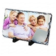 Heat transfer slate painting supplies Blank litite diY photo frame bright matte litite prints / personalized custom litite