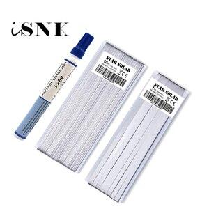 Image 1 - Pv fita tabbing fio células solares connet guia barra diy conectar tira painel solar cobre chapeado fita de solda caneta fluxo