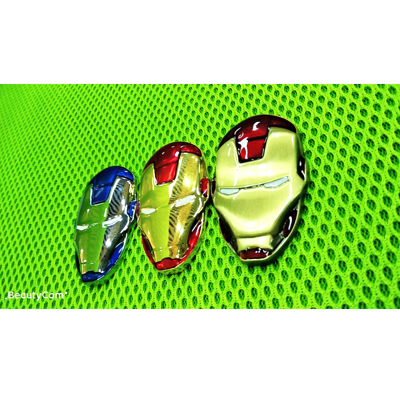 Image 5 - 3D Chrome Metal Iron Man for Car Emblem Stickers Decoration The Avengers Decals Exterior Accessories Silver Gold Car Styling-in Car Stickers from Automobiles & Motorcycles
