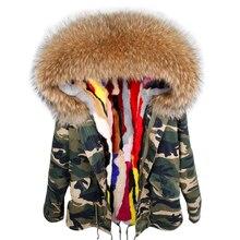 2020 parka winter jacket women parka real fur coat big natur