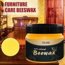 1pcs Polishing Beeswax Wood Seasoning Beewax Complete Solution Furniture Beeswax Care Chairs Cabinets Doors Waterproof Wax