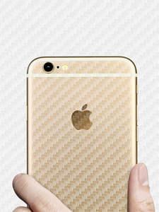 Mobile-Phone-Stickers Adesivos-Accessories Carbon-Fibre-Film Back Apple 8-Plus iPhone 6
