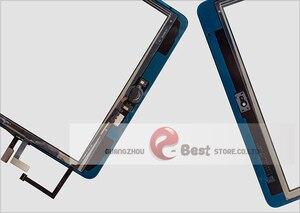 Image 5 - 2017 A1822 A1823 Màn Hình Cảm Ứng Cho iPad 5th Thế Hệ 5 Bộ Số Hóa Mặt Trước Kính Có Nút Home + Dây Cáp + Dụng Cụ cường Lực Glasss