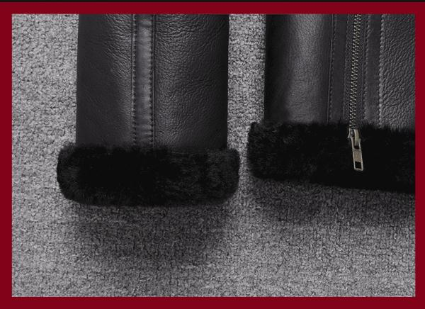 H7ef289e2e4dd4d38b1ef38046b8b017a5 Free shipping,Sales Winter Sheep fur coat,100% wool Shearling jacket,warm leather sheepskin coat.plus size classic motor style