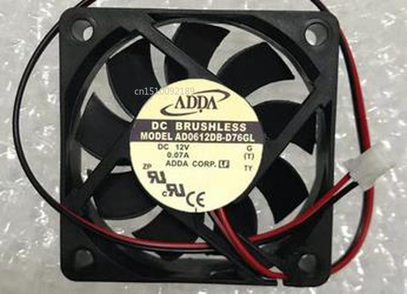 For AD0612DB-D76GL 6015 12v 0.07 Silent Cooling Fan Free Shipping