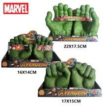 Disney Marvel Avengers Hulk Gloves Figures Toys Hulk Fists Cosplay Gloves Marvel Legends Gamma Grip Model Toy Gifts For Children