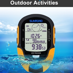 Image 5 - דיגיטלי GPS Tracker מד גובה אוויר גובה לחץ נתונים LCD חיצוני מדחום קמפינג טיולי טיפוס כלים