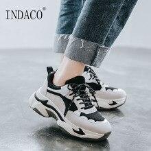 Women Sneakers Fashion Shoes Platform 6cm
