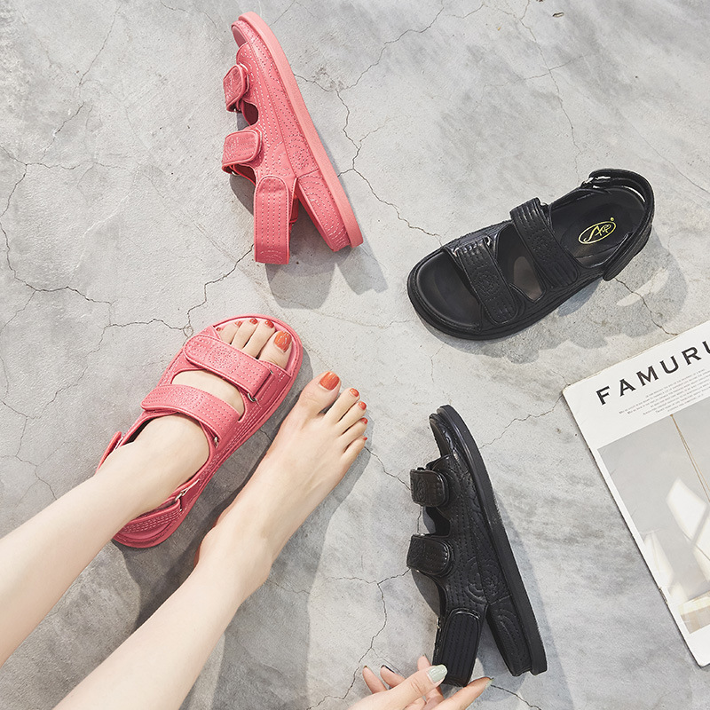 SWYIVY Genuine Leather Gladiator Sandals Women Shoes Platform Summer Sandals Female Casual Shoes Women 2020 Solid Ladies Shoe 40