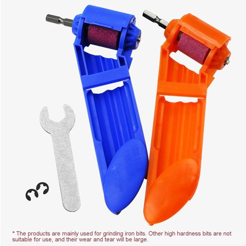 Portable Drill Grinder Bit Kit Sharpener Grinding Wheel Electric Knife Twist Drill Mini Angle Grinding Machine Power Tool