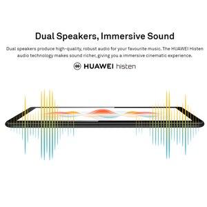 В наличии HUAWEI MediaPad T5 4 Гб 64 Гб планшетный ПК 10,1 дюймов Восьмиядерный двойной динамик 5100 мАч Поддержка microSD карты Android 8,0