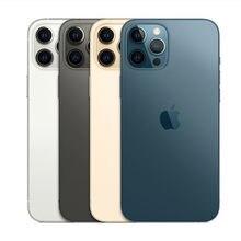 Usado desbloqueado iphone 12 pro 5g smartphone a14 duplo 12mp câmera 128/256/512 gb hexa núcleo 6.1