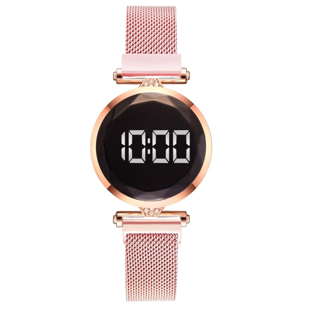 Clearance SaleBracelet Watches Clock Quartz Rose-Gold Magnetic Digital Women Ladies Luxury Feminino