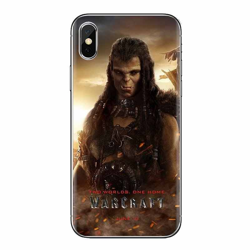 Untuk LG G3 G4 Mini G5 G6 G7 Q6 Q7 Q8 Q9 V10 V20 V30 X Power 2 3 K10 k4 K8 2017 Silikon Telepon Perumahan 2016 Wow Warcraft Seni Film