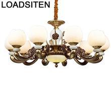 Pendente Lampadari Moderni Chandelier Crystal Nordic Light Luminaire Suspendu Lampara De Techo Colgante Moderna Hanging Lamp