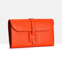 Fashion Luxury Female Long Purse Genuine Leather Wallet Women Big Capacity Clutch With Phone Pocket Ladies Wallets Designer